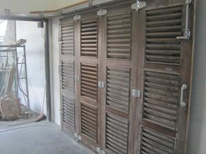 Komponen pintu sliding untuk pintu kayu,harga ekonomis